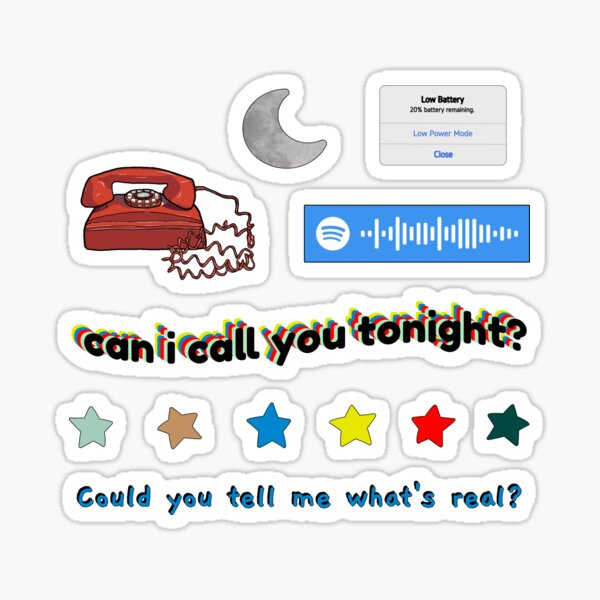 Dayglow - Can I Call You Tonight? Sticker