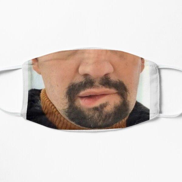Lin Manuel Miranda Lip Bite Flat Mask