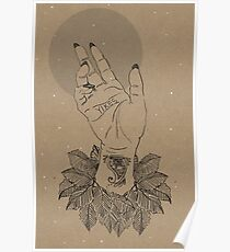 Bad Palmistry - Yikes Poster