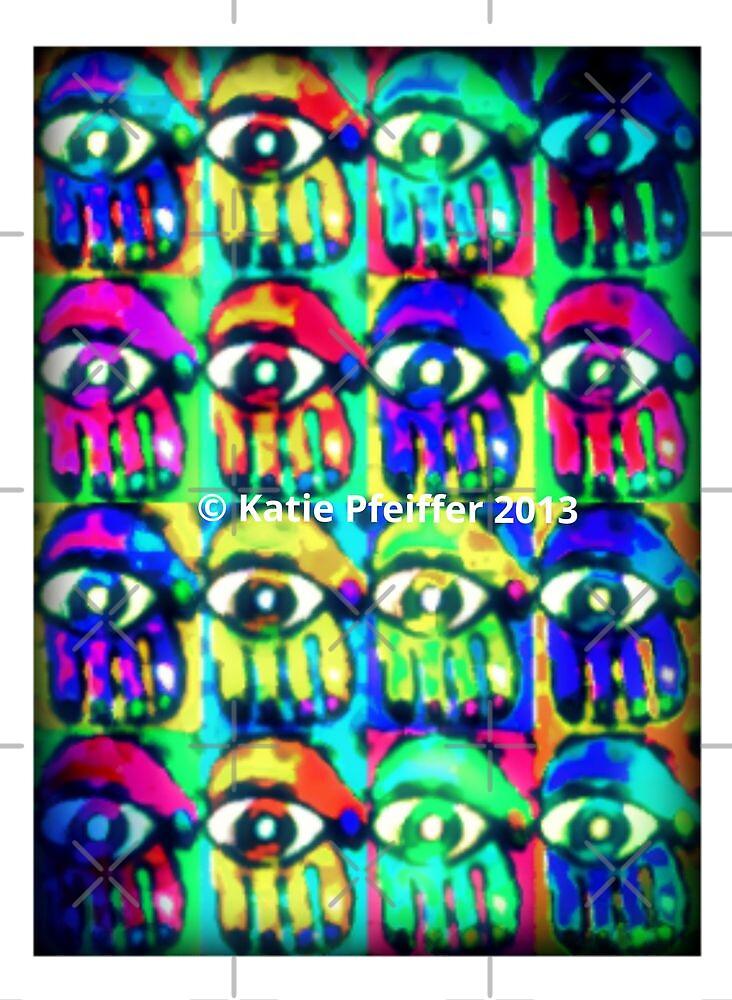 Blurry Hamsas  by Kater