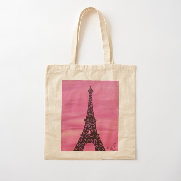Eiffel Tower Painting 2 Cotton Tote Bag