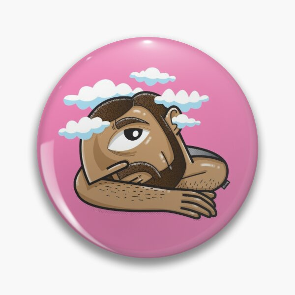 Head in the clouds Pin
