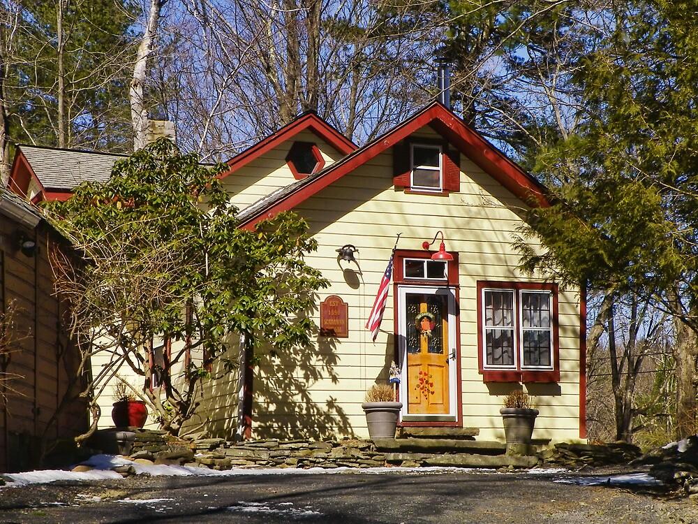 Scarawan One Room Schoolhouse by PineSinger