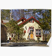 Scarawan One Room Schoolhouse Poster