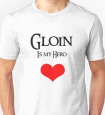 Gloin is my hero Unisex T-Shirt