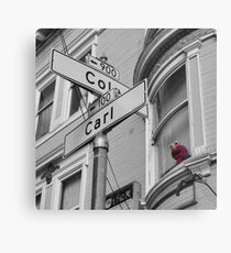 Carl and Cole Canvas Print