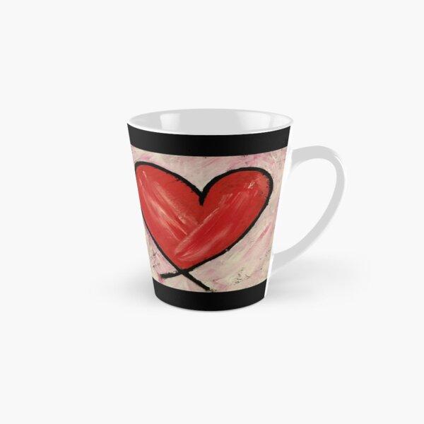 Heart Painting Tall Mug