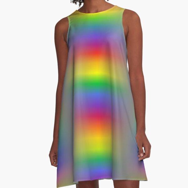 Colors, Light A-Line Dress