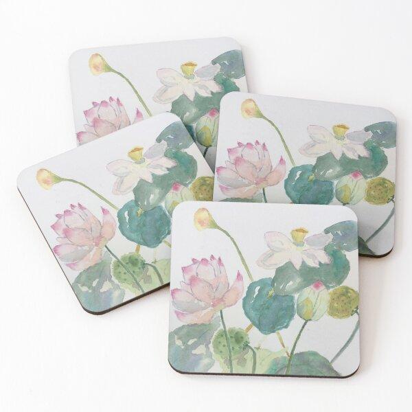Lotus Pond by Tola Coasters (Set of 4)