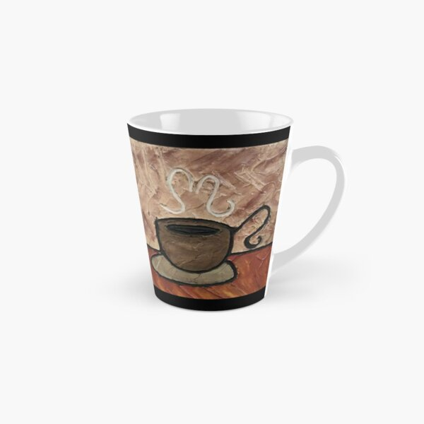 Coffee Cup Painting Tall Mug