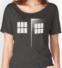 Police Call Box Women's Relaxed Fit T-Shirt