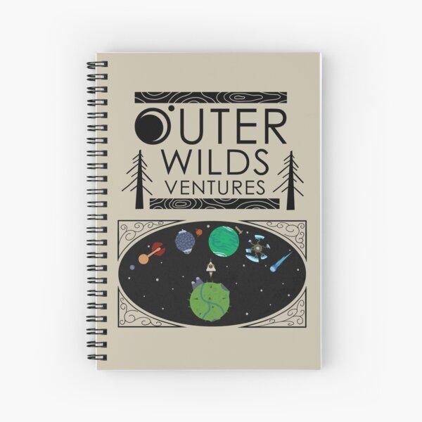 Outer Wilds Ventures Handbook Spiral Notebook