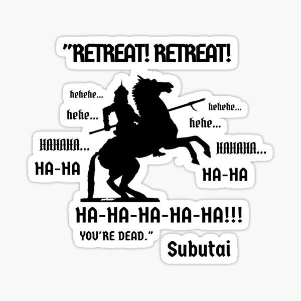Mongol Empire: Subutai Sticker