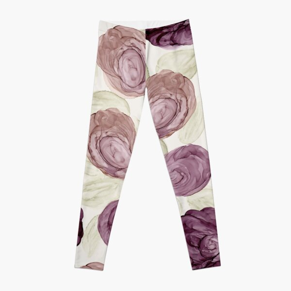Lavender Hues Dots | Elegant Series Leggings