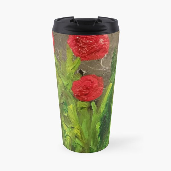 Flowers for Mommy Painting Travel Mug