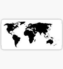 A Simple Globe Sticker