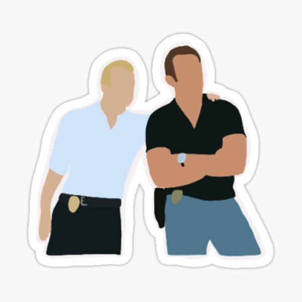Danny and Steve- Hawaii five o Sticker