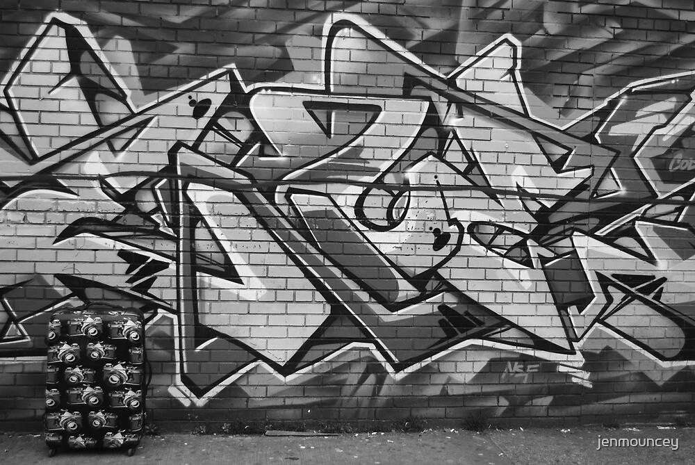 Brooklyn Graffiti  by jenmouncey