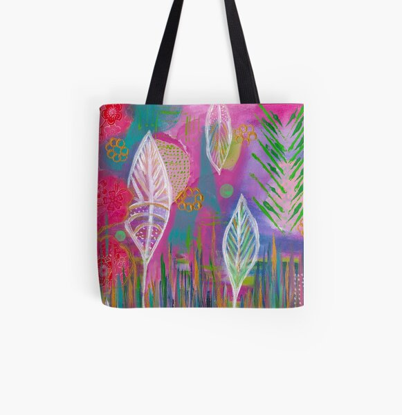 Garden - Revival All Over Print Tote Bag