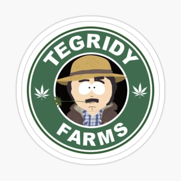 Tegridy Farms Randy Marsh Sticker