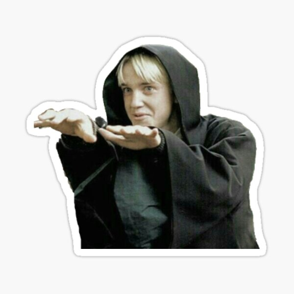 draco malfoy Sticker