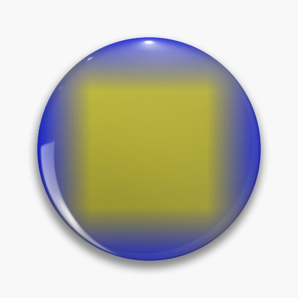 Colors, Pattern, Cobalt Blue Pin