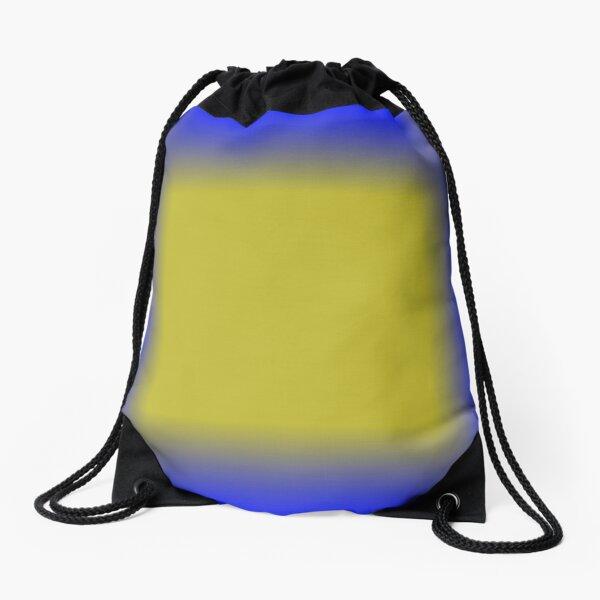 Colors, Pattern, Cobalt Blue Drawstring Bag