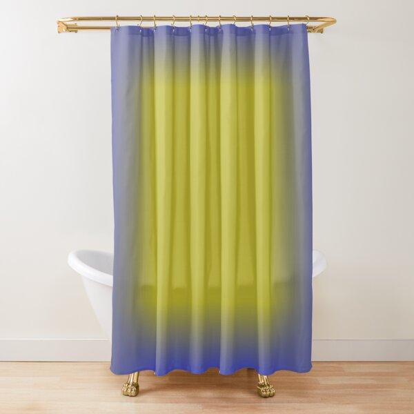 Colors, Pattern, Cobalt Blue Shower Curtain