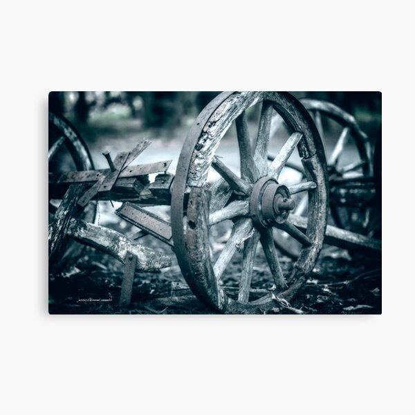 Squeaky Wheel Canvas Print