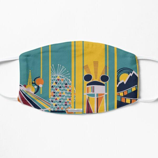 Retro Kingdom Flat Mask