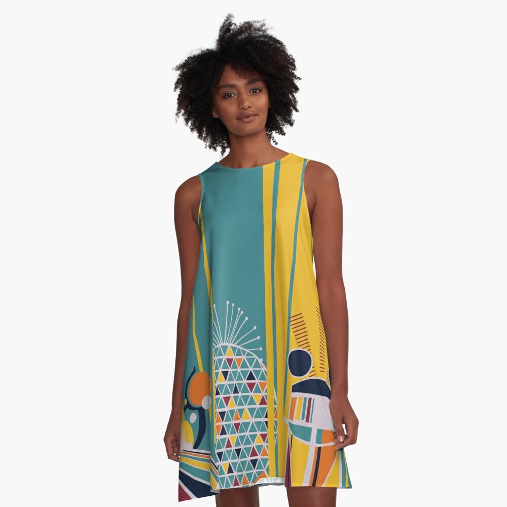Retro Kingdom A-Line Dress