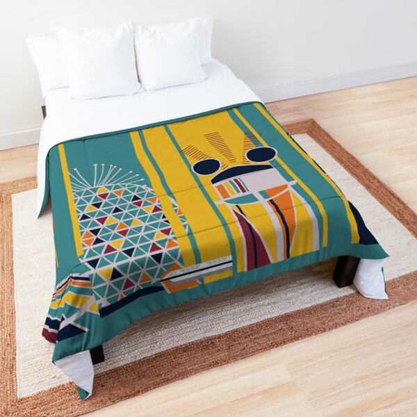 Retro Kingdom Comforter