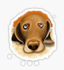 Dogface Sticker
