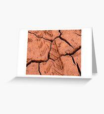 Mad Mud Greeting Card