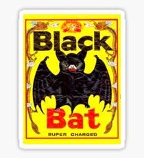 BIG BLACK BAT Sticker