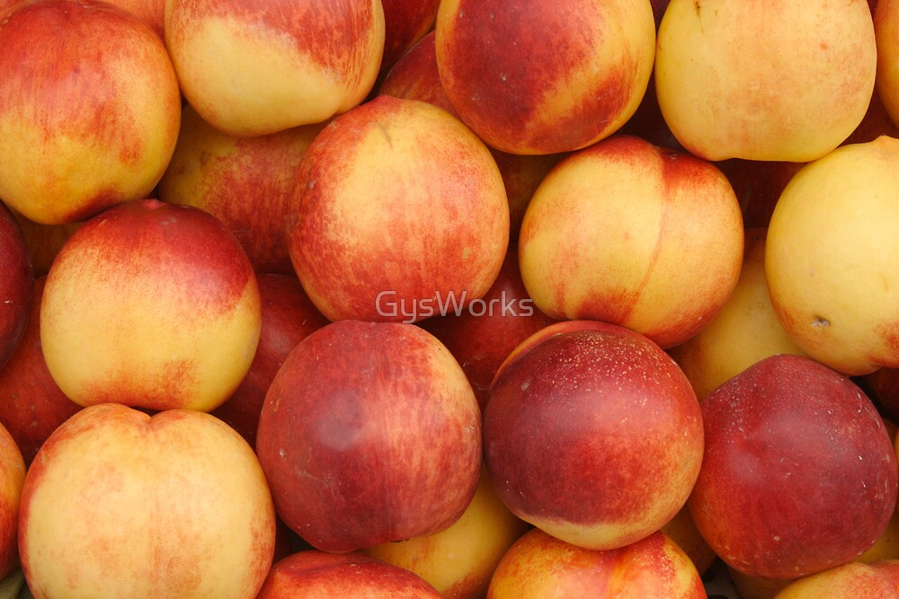 Nectarines At Market by GysWorks