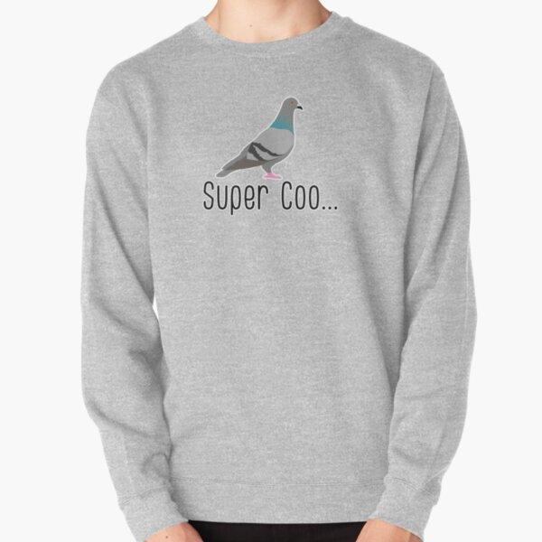 super coo funny pigeon pun Pullover Sweatshirt