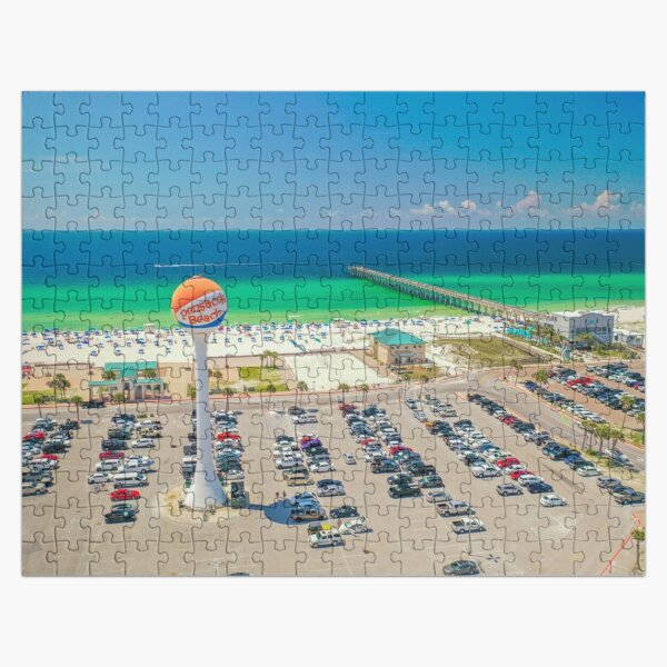 Emerald Coast Water Tower Jigsaw Puzzle