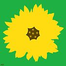 sunflower green by hennydesigns
