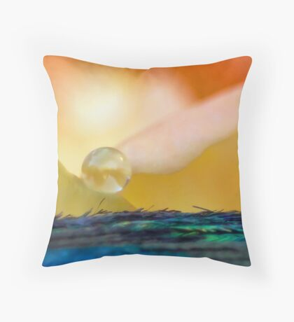 Angel of the Dawn Throw Pillow