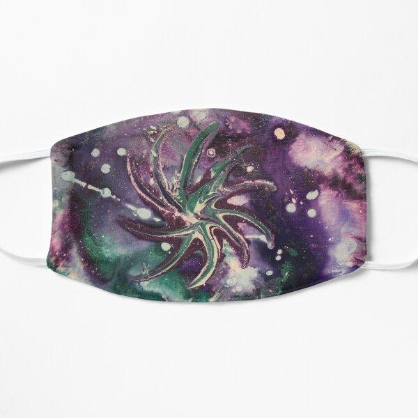 Galaxy Gaze Painting Flat Mask