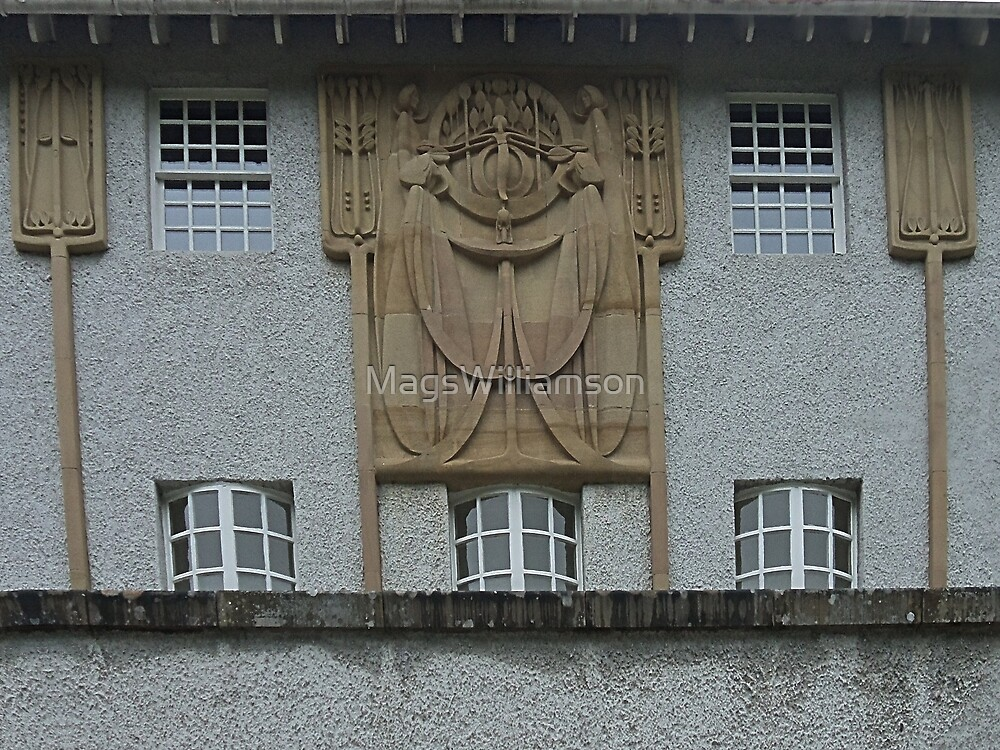 House For An Art Lover, Architectural Decoration by MagsWilliamson