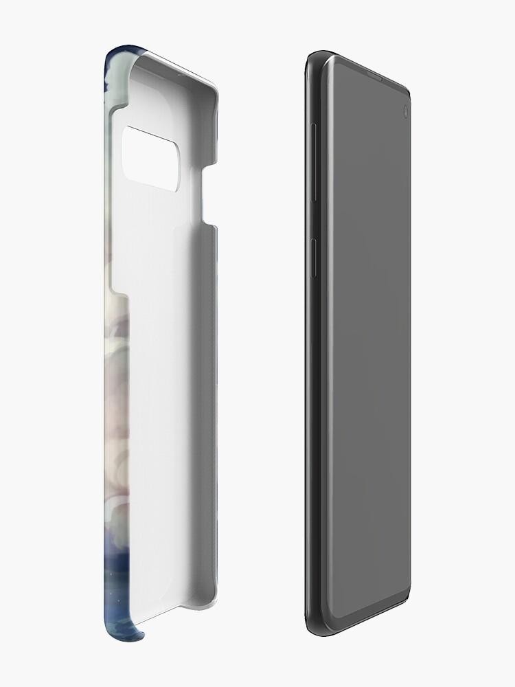 Alternative Ansicht von auf den Himmelschaum. Hüllen & Klebefolien für Samsung Galaxy