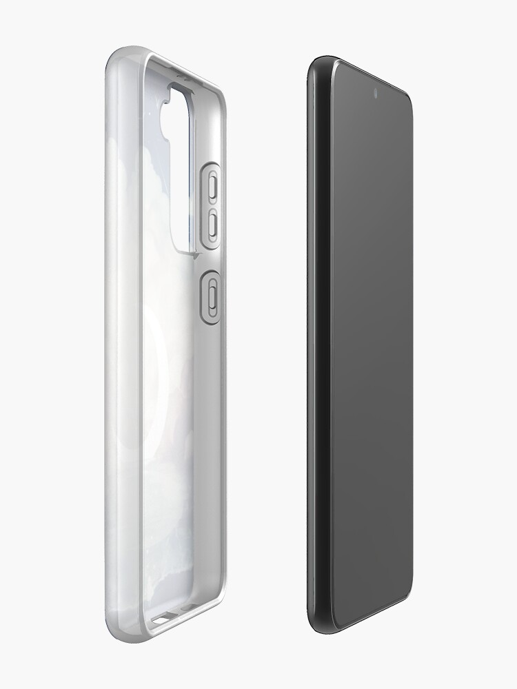 Alternate view of upon the sky-foam. Case & Skin for Samsung Galaxy