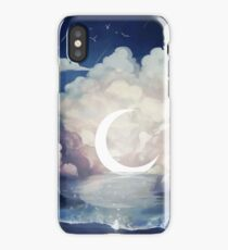 upon the sky-foam. iPhone Case