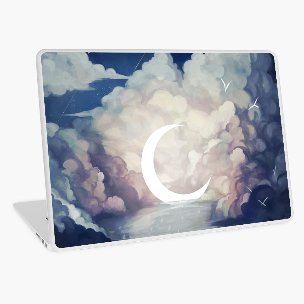 upon the sky-foam. Laptop Skin