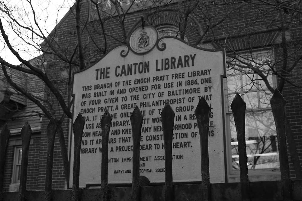 The Canton Library by Dominic Perry