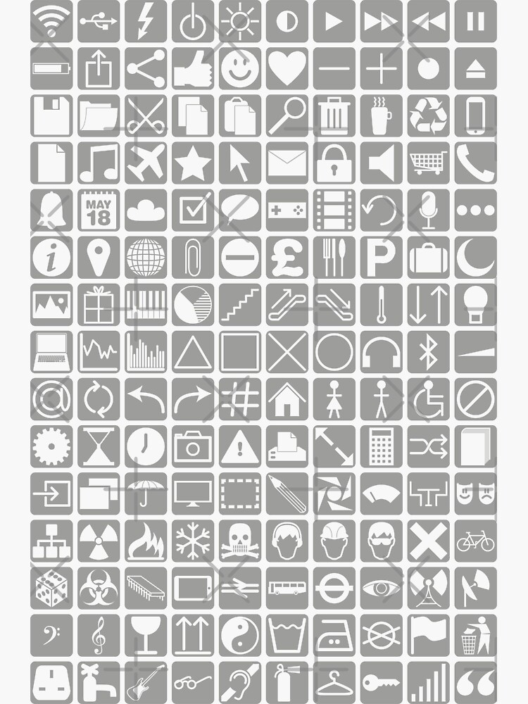 NDVH Icons by nikhorne