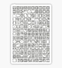 Icons Sticker