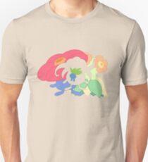 Oddish - Gloom - Vileplume + Bellossom Unisex T-Shirt